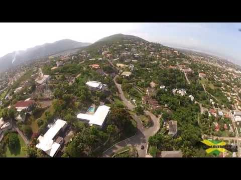 Kingston Jamaica - Beverly Hills Aerial Video