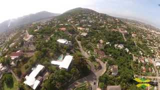 Kingston Jamaica - Beverly Hills Aerial Video