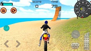 Motocross Beach Race Jumping 3D #Dirt Motor Cycle Racer Game #Bike Games To Play
