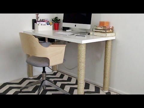 Home Office Ideas - IKEA desk hack and more: Season 2, Ep 9 part 1