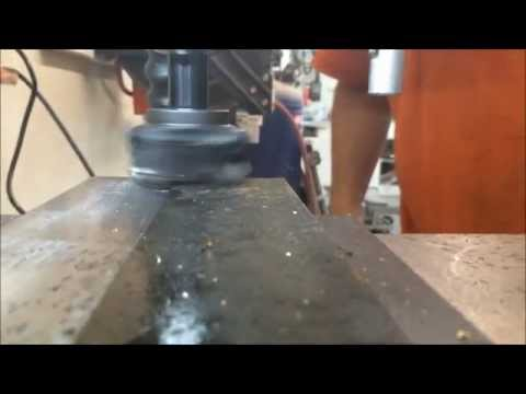 G0704 Grizzly Milling Machine Demonstration - Tooling Review - Flea Market Finds