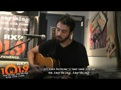 Ari Hest - A good look around live on anything anything
