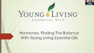 Balance Hormones Naturally with Essential Oils from Young Living