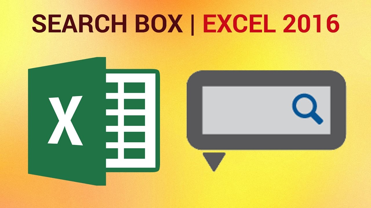 how to create a highlighting search box in excel   youtube. how to create a highlighting search box in excel
