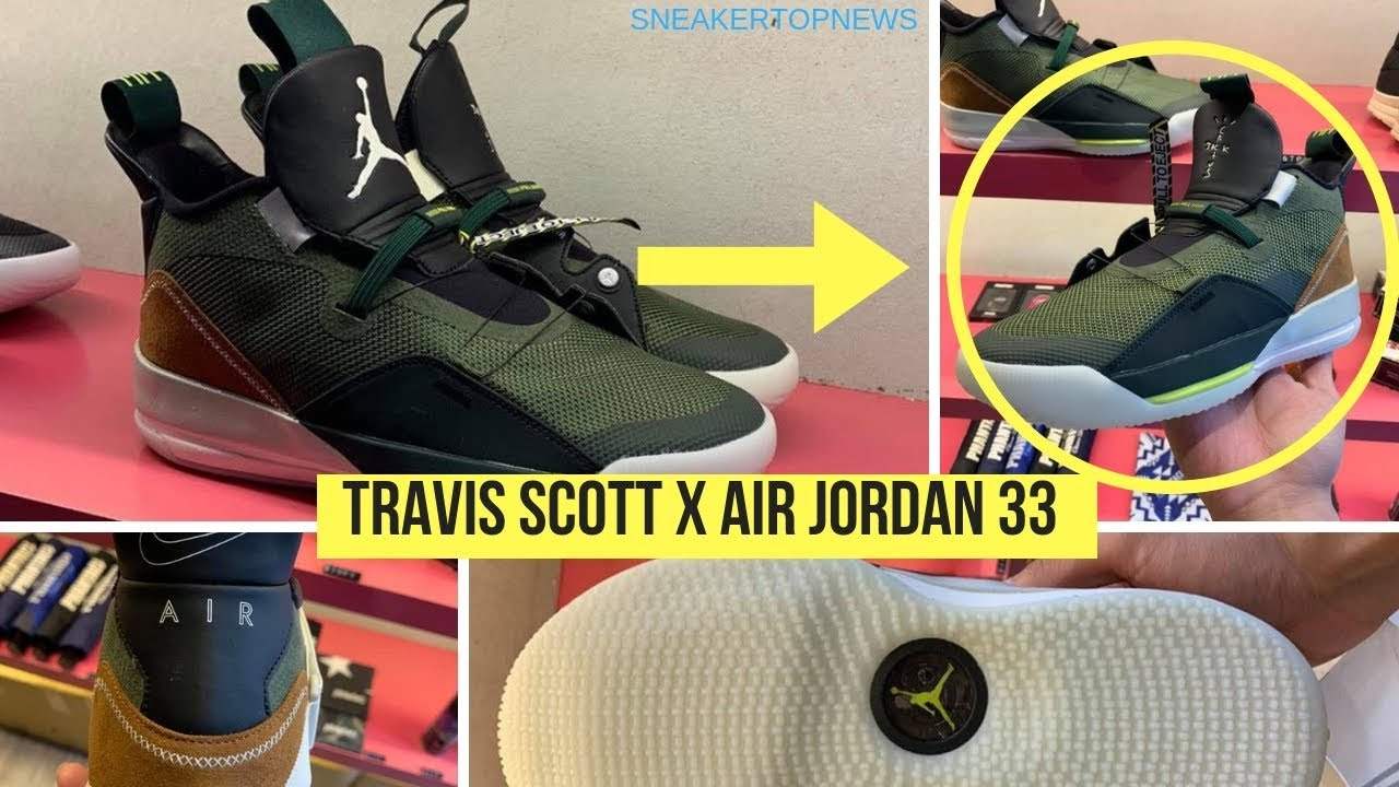 store promo code reputable site Travis Scott To Release An Air Jordan 33 On January 27th ...