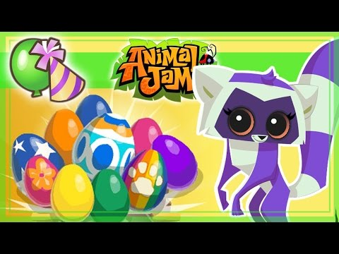 Animal Jam - Huevos de pascua y  mi nuevo animal !
