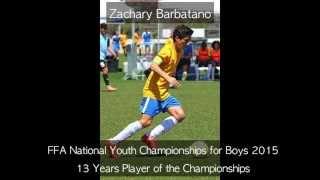 Zachary Barbatano FFA National Youth Championships 2015