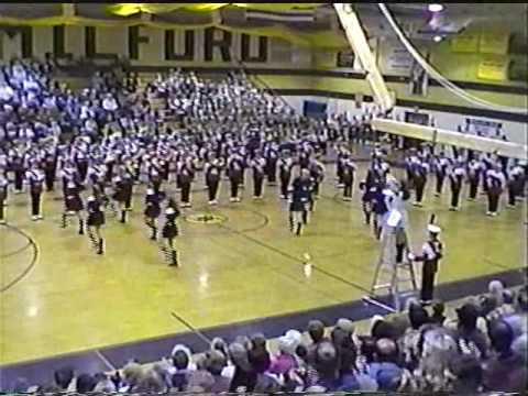 Clifton Mustang Marching Band 1st West Milford Tattoo 2000