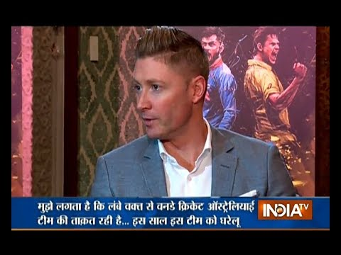 Very challenging for Australia to stop Virat Kohli: Michael Clarke to India TV