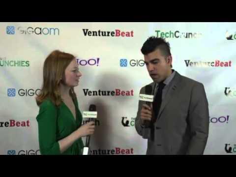 NASA's Bobak Ferdowsi, Backstage Interview | TechCrunch 2012 Crunchies