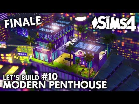 Finale! | Die Sims 4 Haus bauen | Modern Penthouse #10 (deutsch)