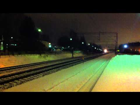 [VR] class Sm 3 Pendolino as train nr. S 60 from Oulu to Helsinki passing Korso station.