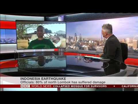 BBC World News - Live Peduli Anak in Lombok