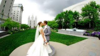 Utah Wedding Video | Allie & Tanner | Salt Lake City Temple Wedding Film