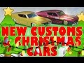 New Customs and Christmas Hot Wheels Review Episode 595