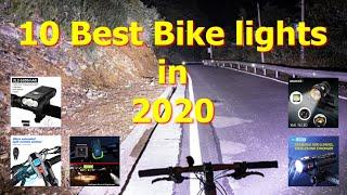 10 Best Front Lights for Cycling 2020 | RockBros, VastFire, SolarStorm, InBike, NewBoler