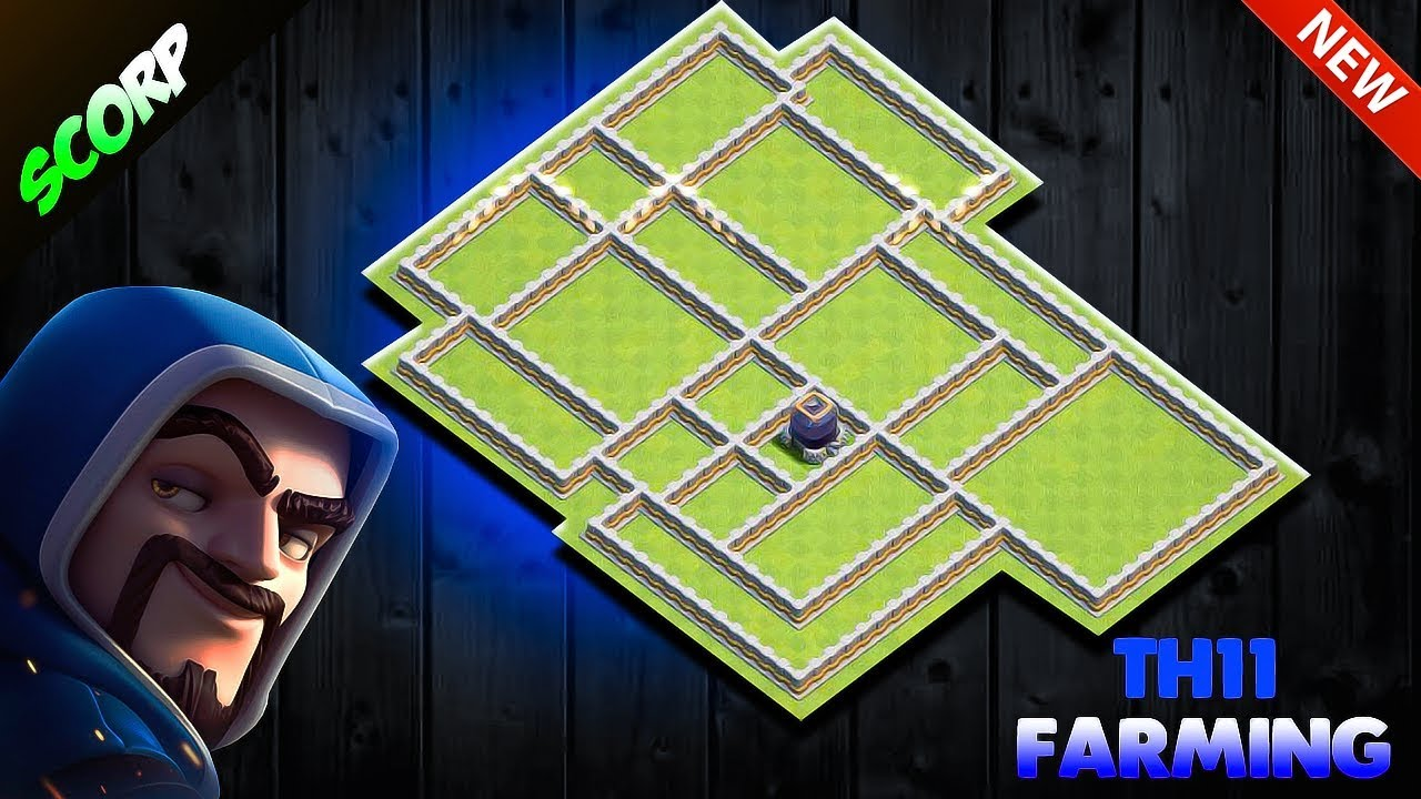 TH11 Farming Base 2019 | TH11 Loot Protection Base | TH11 Base Link +  Replays - Clash Of Clans