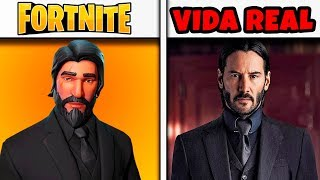 TOP 10 PERSONAGENS DO FORTNITE NA VIDA REAL (Fortnite Skins na Vida Real)