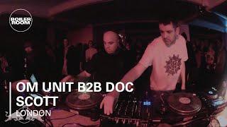 Om Unit b2b Doc Scott Boiler Room London - Red Bull Music Academy Takeover