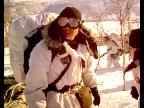 US Marines Land in Arctic Snow