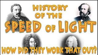 history of the speed of light