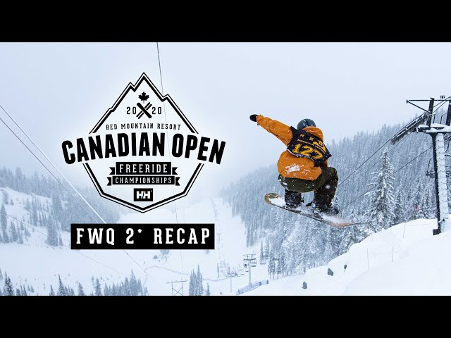 Canadian Open Freeride Championships - FWQ 2* 2020 at RED Resort