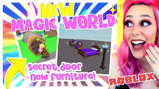 *NEW* SECRET DOOR + MAGIC ITEMS COMING TO ADOPT ME! Roblox Adopt Me NEW Update