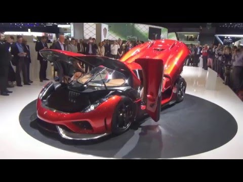 Koenigsegg Regera Premiere at Geneva Motor Show 2016 /full conference