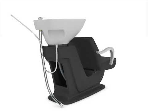 DIR Salon Furniture Backwash Sink Installation Video