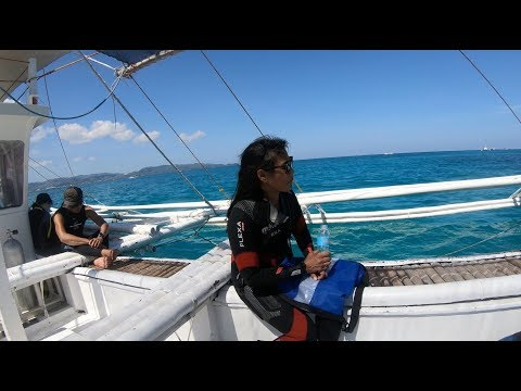 Diving in Boracay