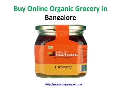 Buy Online Organic Grocery in bangalore