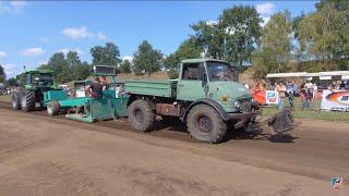 Trecker Treck Full Pull Fitzen 2018 | Unimog Klasse  U1300 U1400 U1600 U1700| K700 Tractor Pulling