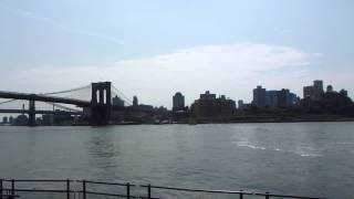 H24.5.27 NY サウス・ストリート・シーポートよりブルックリンブリッジ