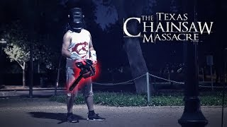 WE FOUND THE SCARY TEXAS CHAINSAW FUGITIVE!! **wtf**