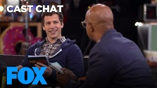 Andy Samberg Shares His SNL Story With Damon Wayans In The Fox Lounge | FOX BROADCASTING