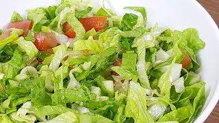 Mevsim Salatası Tarifi ve Malzemeleri