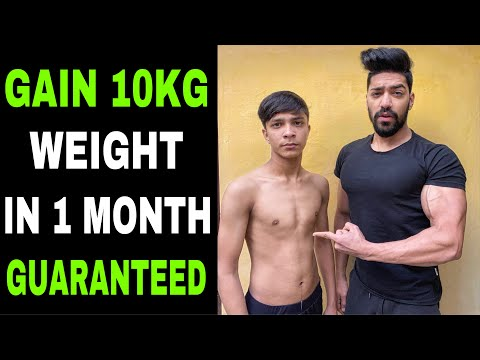 Easy 5 Tips For Weight Gain In 1 Month | How To Gain Weight Naturally | Hindi