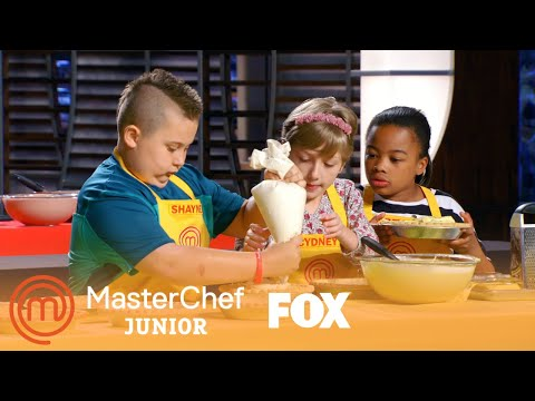 Teams Use Their Communication Skills In Fast-Paced Challenge | Season 5 Ep. 7 | MASTERCHEF JUNIOR