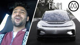 Faraday Future FF 91 - 1050 Horsepower Madness!