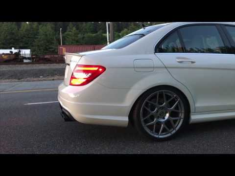 Mercedes C63 W204 Agency Power Headers with Meisterschaft Exhaust