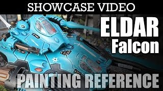 Painted Eldar Falcon Skimmer Tank Warhammer 40k Showcase | HD Images and Video(, 2013-01-24T10:43:00.000Z)