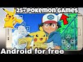 Download 25+ Pokemon Games on Android for free