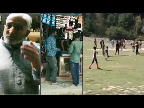 In Kashmir, scenes