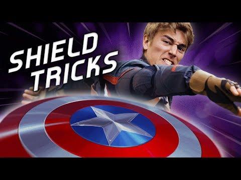 Shield Trick Shots | Captain America (ft. Avengers)