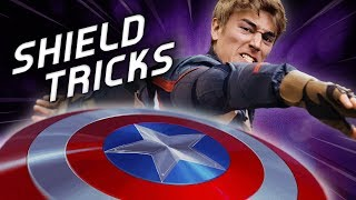 Captain America SHIELD TRICKS