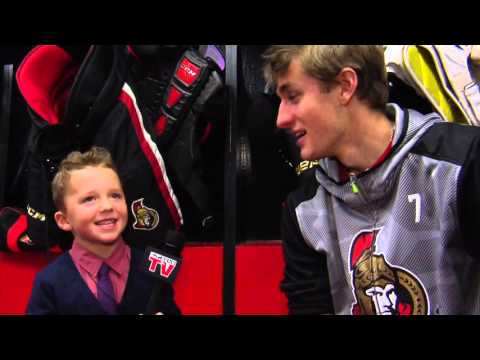 Sens TV Junior Reporter