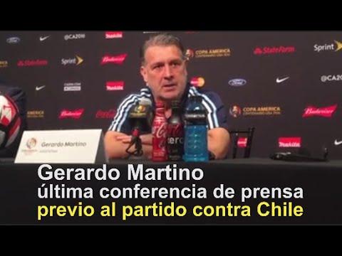 Gerardo Martino entrenador de Argentina