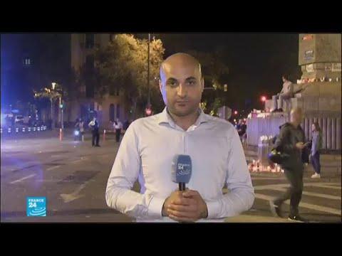 موفد فرانس 24 ينقل المسيرة الاحتجاجية الليلية في برشلونة  - نشر قبل 3 ساعة