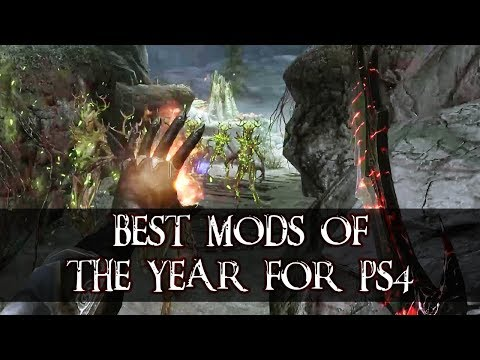 Top 10 mods for Skyrim on PS4 of the year