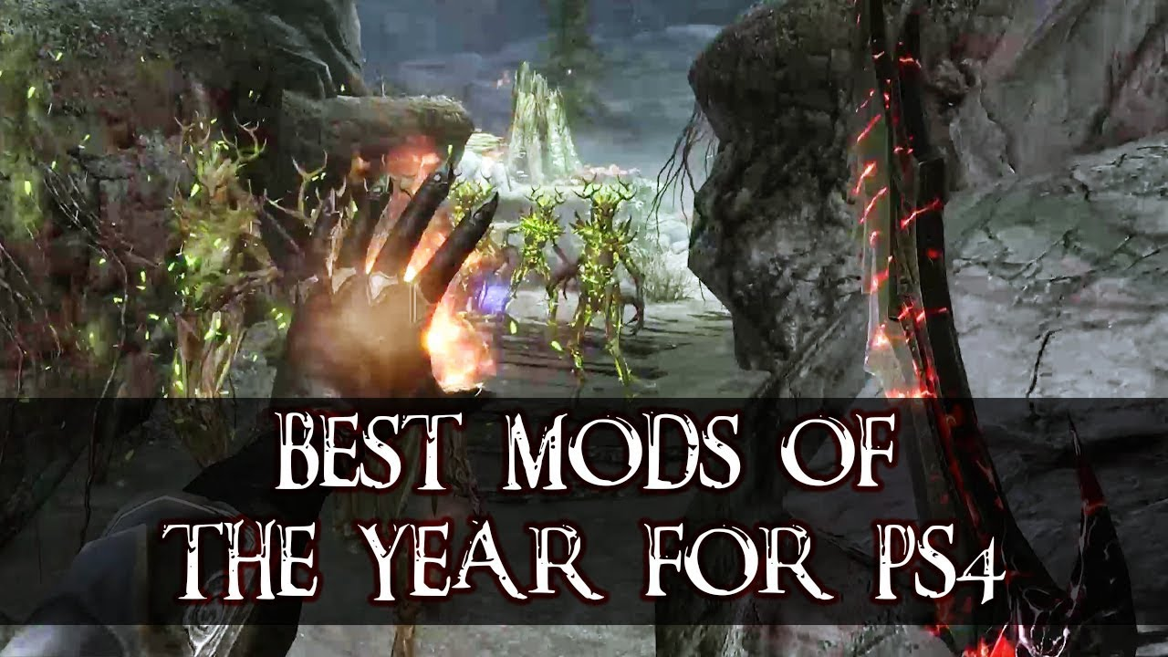Top 10 Mods For Skyrim On Ps4 Ps5 Of The Year Youtube